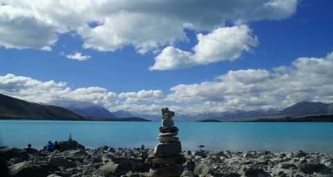 Lake Tekapo on the South Island